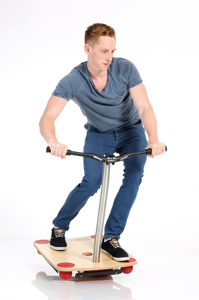 Training mit dem Bike Balance Board